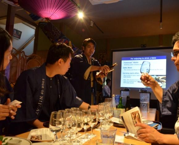 日本酒テイスティングレクチャー
