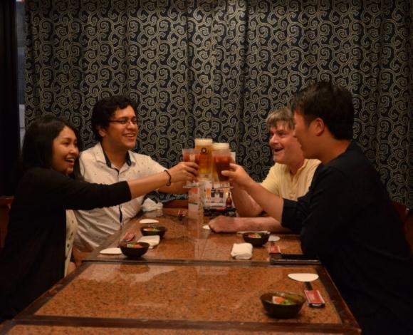 Japanese Pub Hopping Tour