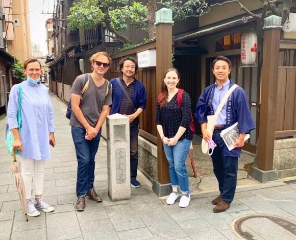Walking tour: Old Port Town Niigata